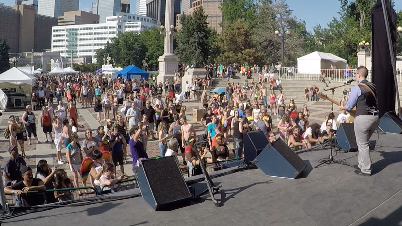 Denver Pridefest 2015 Performance